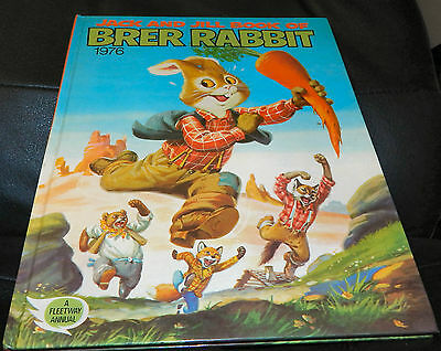 Vintage: Jack And Jill Book Of Brer Rabbit 1976