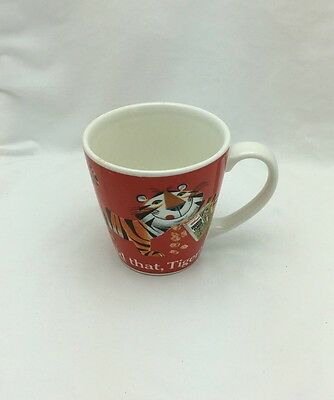 """Kellogg's Tony The Tiger Mug Frosted Flakes Cereal 4"""" T Vintage Kelloggs Multi"""