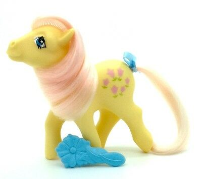 ⭐️ My Little Pony ⭐️ G1 Italian Posey w/orig Brush Stamped Italy Gorgeous!