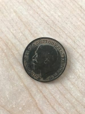 United Kingdom - British - George V - One Penny coin - 1918
