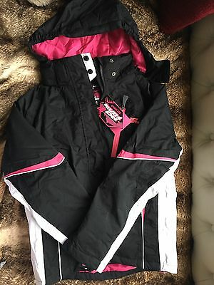 Girls Ski Wear. Salopettes And Jacket. No Fear. Age 11/13