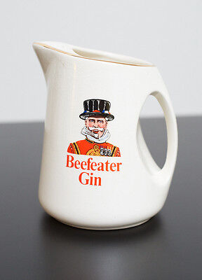 Vintage Wade England Beefeater Gin Pitcher-Water Jug  WADE PDM England
