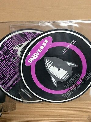 World Techno Tribe - Universe - Double Vinyl Picture Discs. Limited Edition