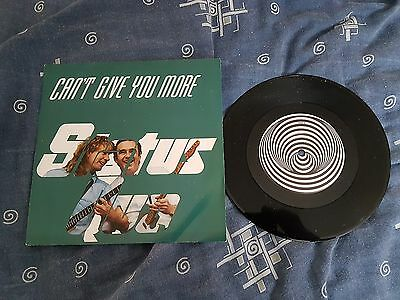 "Status Quo Can't Give You More 7"" Single Vinyl"