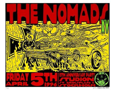 New The Nomads Frank Kozik Limited Edition Print CLEARANCE SALE