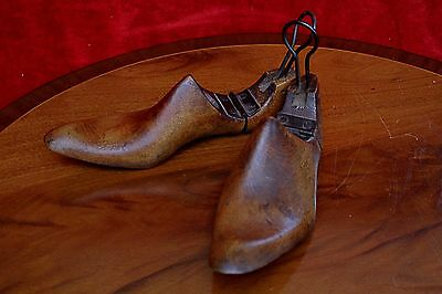 Antique Shoe Wooden Molds