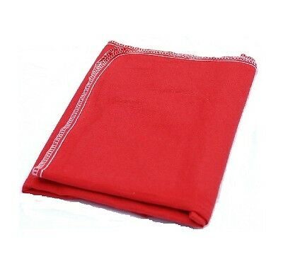 Red Cloth Fender Cover 37x49 Super Soft alos fo A Seat Protector