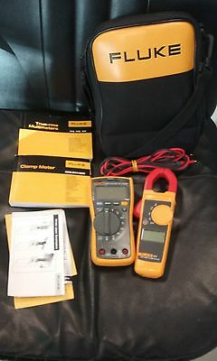 Fluke 117/323 Electrician's Multimeter and Clamp Meter with Combo Kit