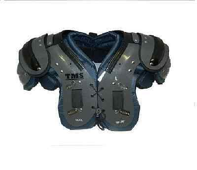 """NEW TMS Adult OL/DL Football Adult Shoulder Pads Size 3XL 22"""" - 23"""""""