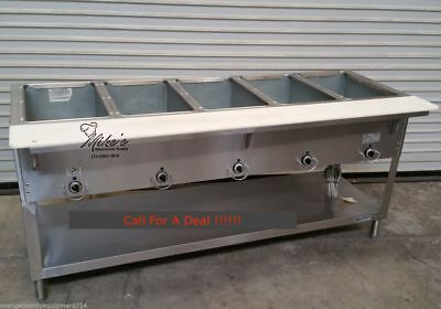 NEW 5 Well Electric Steam Table Duke Aerohot E305 #4664 Commercial Food Warm NSF