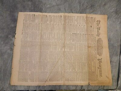 Aug. 3, 1861 Daily Picayune NEW ORLEANS Newspaper CIVIL WAR