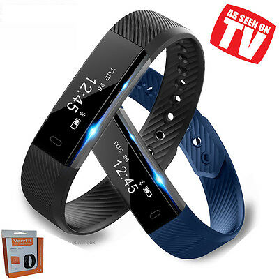 Smart Fit Watch Activity Step Tracker Calorie Counter Bracelet Wristband