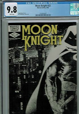 Moon Knight #23  CGC 9.8 1982 Marvel  Comic: NEW CGC Frame