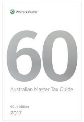 Australian Master Tax Guide 2017 60th Edition by Paperback Book