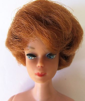 Vintage Barbie #850 1964-67 red Titian bubble cut no green