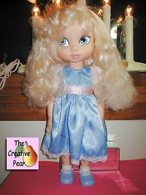 "Disney Animators Collection 16"" Cinderella Toddler Doll Original Clothing Shoes"