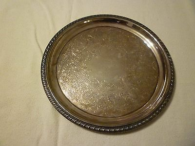 Vintage William Rogers 869 Silver Serving Plate