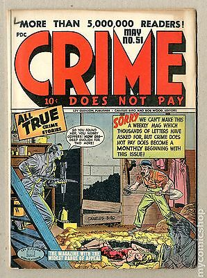 Crime Does Not Pay (1942) #51 GD/VG 3.0