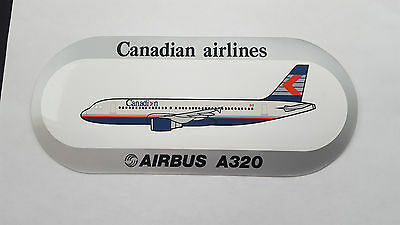 Canadian Airlines - Airbus  A320 Decal.