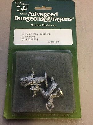 TSR advanced dungeons and dragons monster miniatures