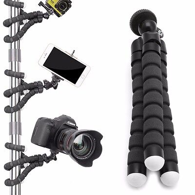 Hot Flexible Tripod Stand Gorilla Mount Monopod Holder Octopus For GoPro Camera