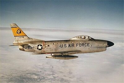Photo 8x12 NAA F-86 SABRE -01B    STOCK CLEARANCE !