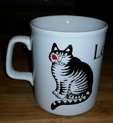 Kliban Mug Love A Cat