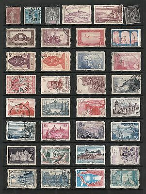 FRANCE & COLONIES Stamp Collection MINT USED REF:QE405