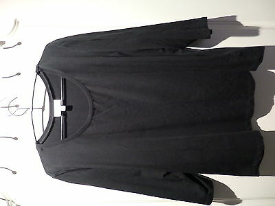 Autograph basic 3/4 sleeve black Top size 20 - as new