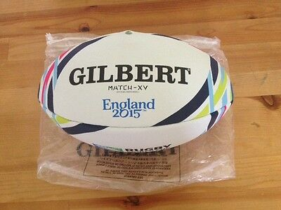 Rugby World Cup 2015 Gilbert match grade ball used by teams for training