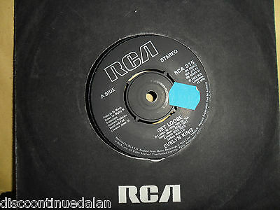 "Evelyn  King.get Loose.northern Soul.rca.7"" Vinyl.45Rpm"