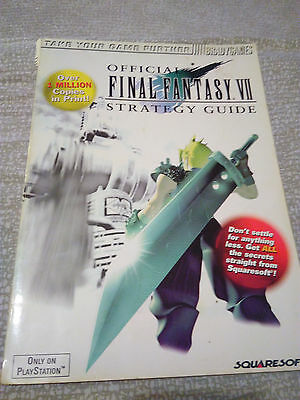FINAL FANTASY VII Guida Ufficiale Official Strategy Guide Bradygames Inglese
