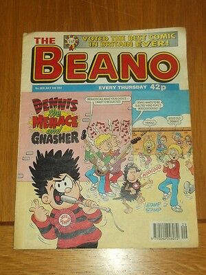 Beano #2870 19Th July 1997 British Weekly