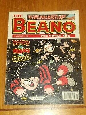Beano #2896 17Th January 1998 British Weekly
