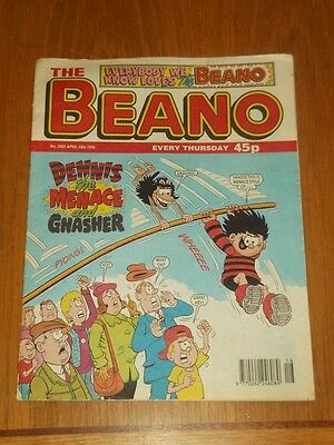Beano #2909 18Th April 1998 British Weekly