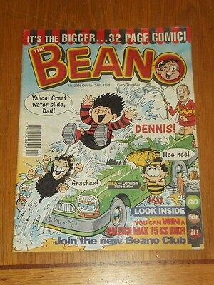 Beano #2936 24Th October 1998 British Weekly