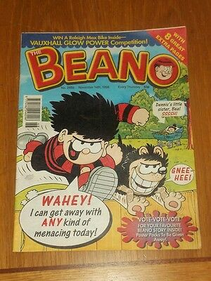 Beano #2939 14Th November 1998 British Weekly