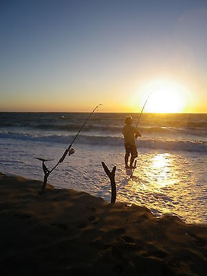alsbeachmate rod holder  great gift for all fisho's for sand and surf