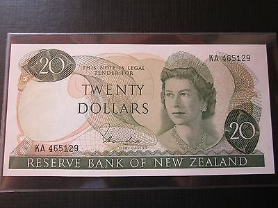 Almost Unc New Zealand Hardie $20. 1977-81.