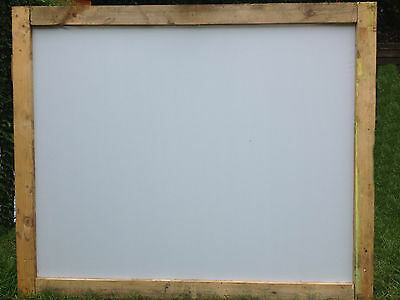 "projector screen material waterproof DIY FRONT-REAR projection 70""x70"" approx"