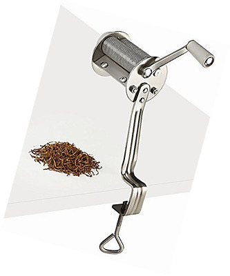 Tobacco Cutter 0.8mm Shredder for Tobacco leaves. Make your own cigarettes