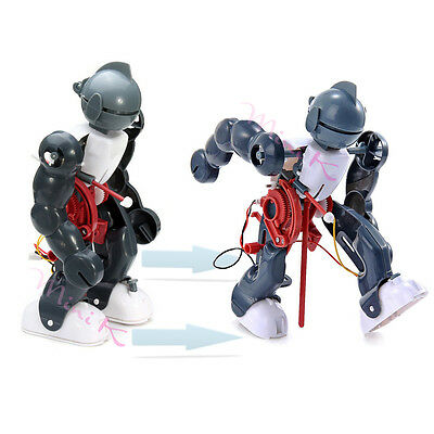 Tumbling Robot Dacing Model 3-Mode Assembly Electric Kid Creative Toy Gift DIY