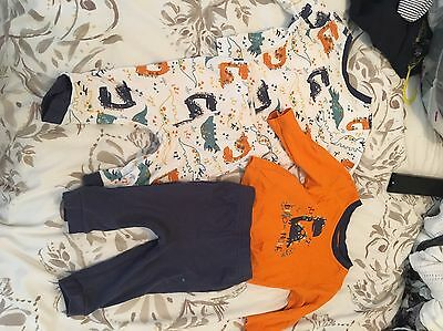 Boys Sleepsuits 3-6 Months