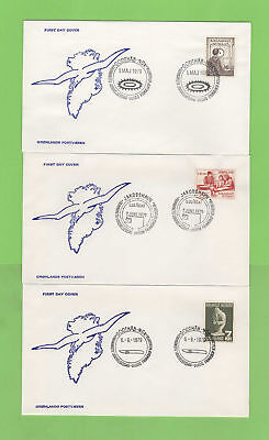 Greenland 1978-1980 Collection of fifteen First Day Covers