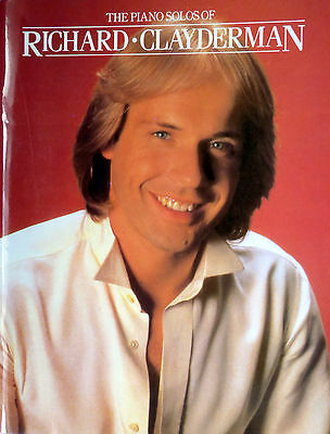 The Piano Solos Of Richard Clayderman - Music Book - Brand New