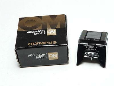 Olympus Genuine TTL Electronic Flash Connecter Accessory Shoe 2 OM System Boxed