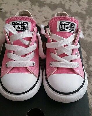 girls toddler converse size 6
