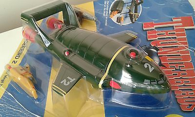 Thunderbirds Thunderbird 2 & 4 and The Mole Soundtech carded electronic working