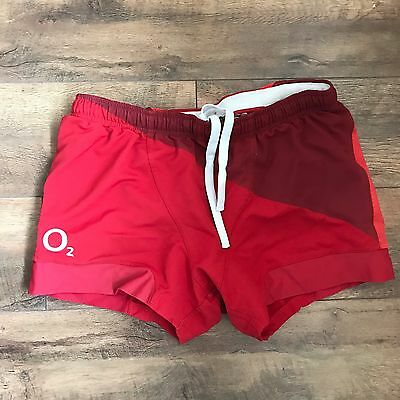 Red England Rugby Shorts Xxl