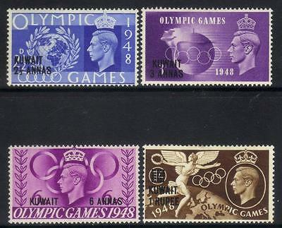 Tangier 1948 Olympic Games M/m Set Of 4